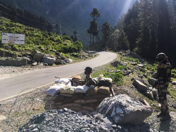 IAF Chief visits Leh China border Air Force on high alert