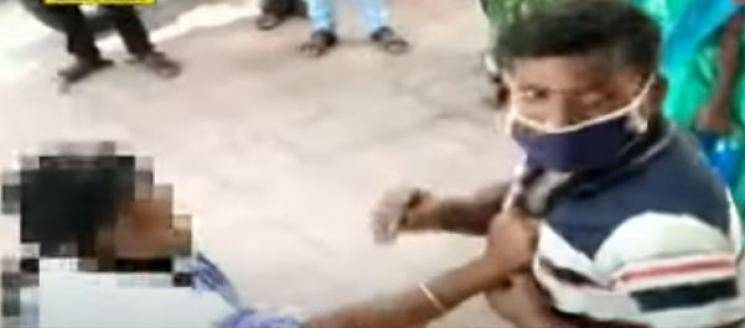 Man beaten up for eve teasing and misbehaviour