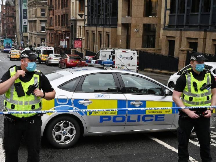 Brutal stabbings in Glasgow Scotland killer shot