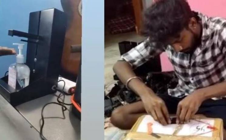 Master Actor Dheena Invented Sensory Sanitation Machine