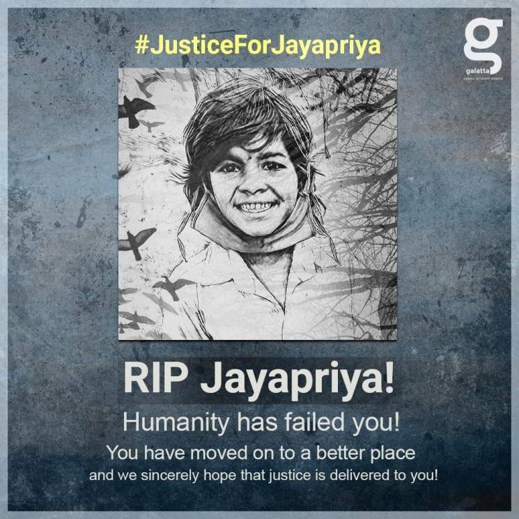 Jayapriya 7 year child raped murdered Pudukottai horror