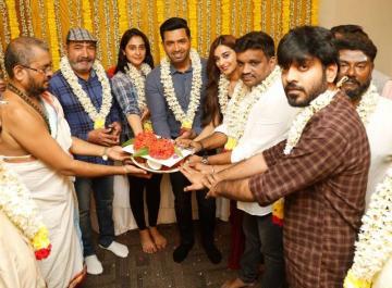 Arun Vijay 31 Titled As Zindabaad Regina AV 31