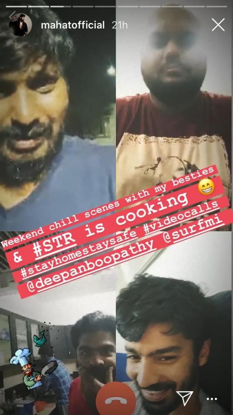 STR Cooking During Corona Lockdown Mahat Post