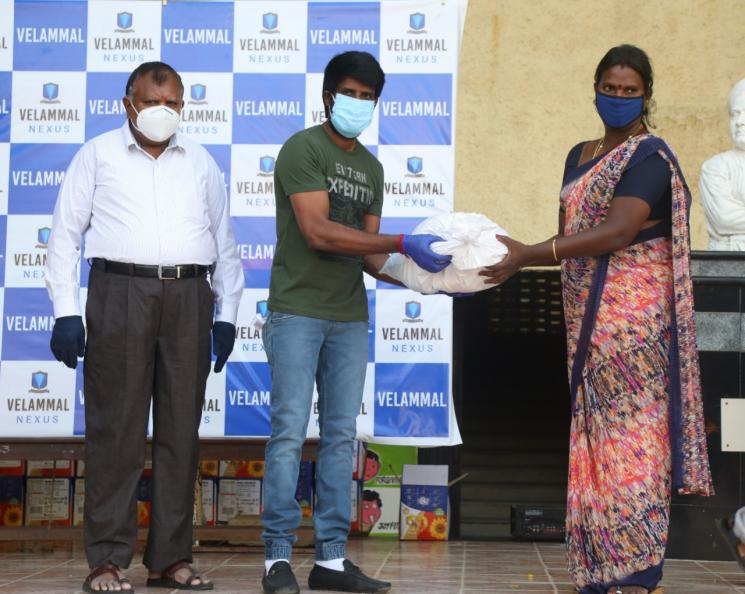 Soori and Velammal help specially abled people