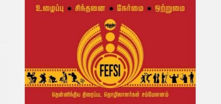 Bigil Producer Donates 15 Lakhs to FEFSI Workers