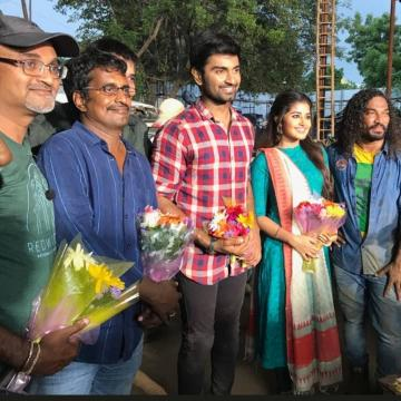 Atharvaa Anupama Film With R Kannan Shoot Update