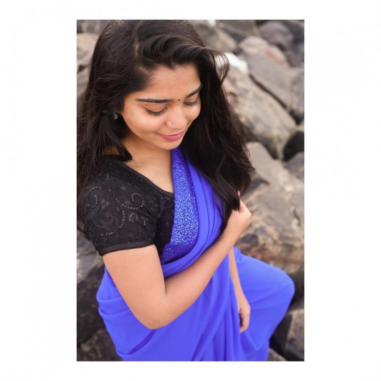 Master Actress Gouri Kishan Viral Yoga Pictures