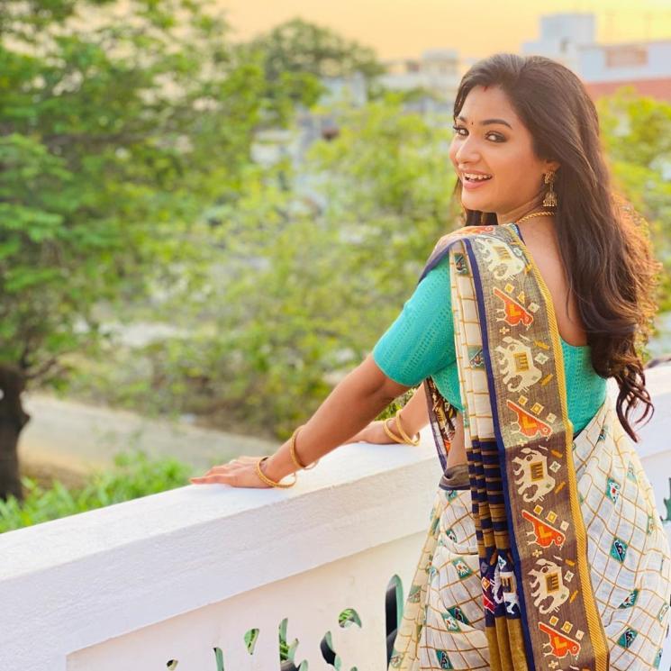 Aayutha Ezhuthu Sharanya Turadi Latest TikTok