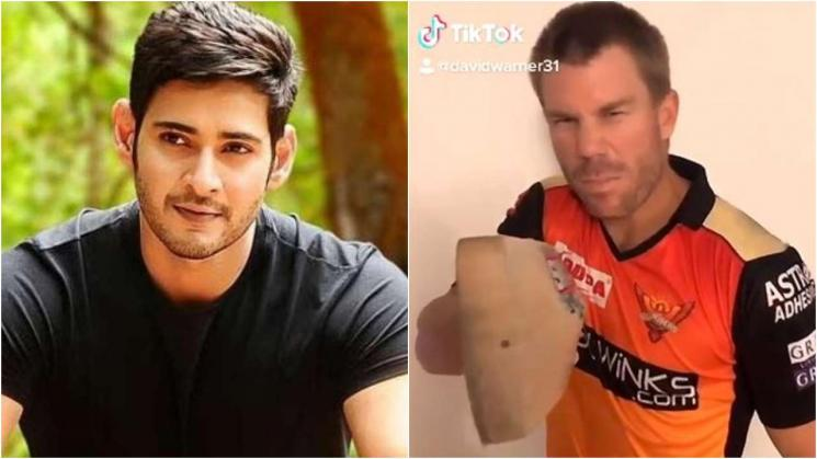 David Warner Pokiri Dialogue TikTok Maheshbabu