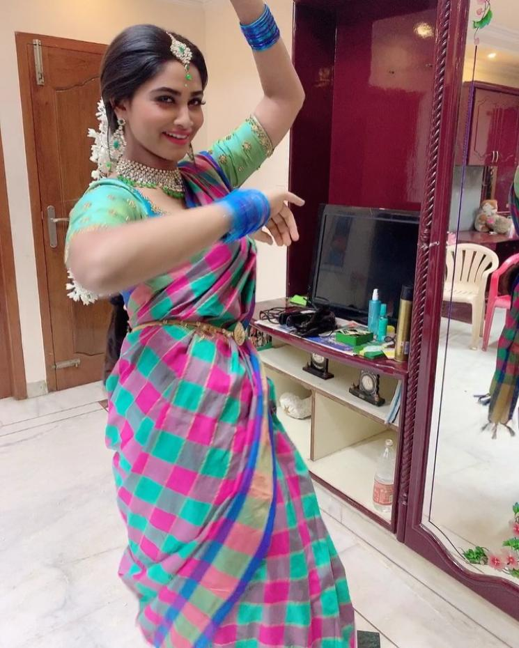 Shivani Narayanan Post on Corona Free World