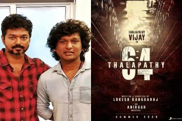 Thalapathy 64 Kaithi Fame Arjun Das On Board
