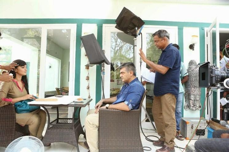 Gautam Menon Anushka Film Military Thriller Genre