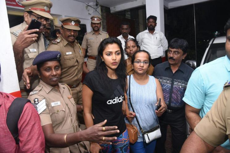 Amala Paul Sexual Abuse Case Investigation On Hold
