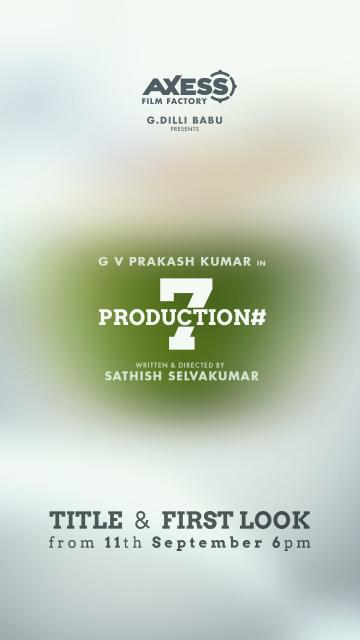 GV Prakash New Film