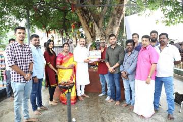 Arun Vijay 30 Starts Shoot With Pooja Kumaravelan