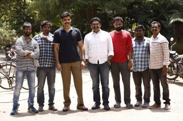 Sibiraj Walter Movie First Look Poster Released