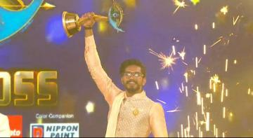 Biggboss 3 Title Winner Mugen Rao Runner Sandy