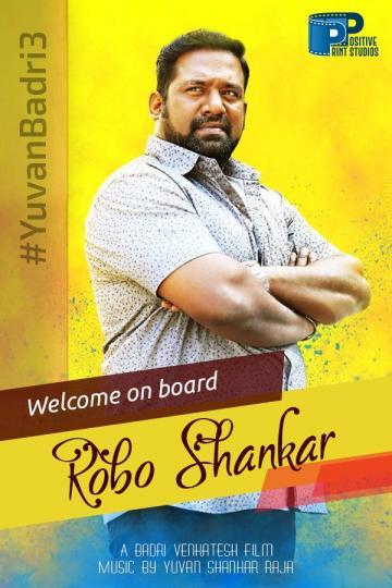 Robo Shankar Joins Cast Rio Badri Venkatesh Film