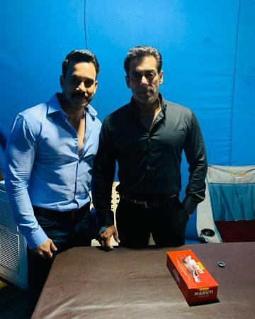 Barath To Play Antagonist in Salman Khan Radhe