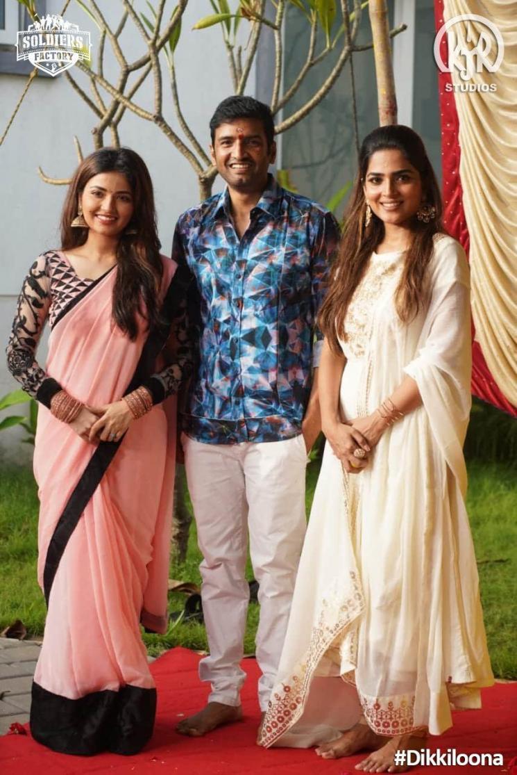 Santhanam Harbajan SIngh Dikkiloona Shoot Wrapped
