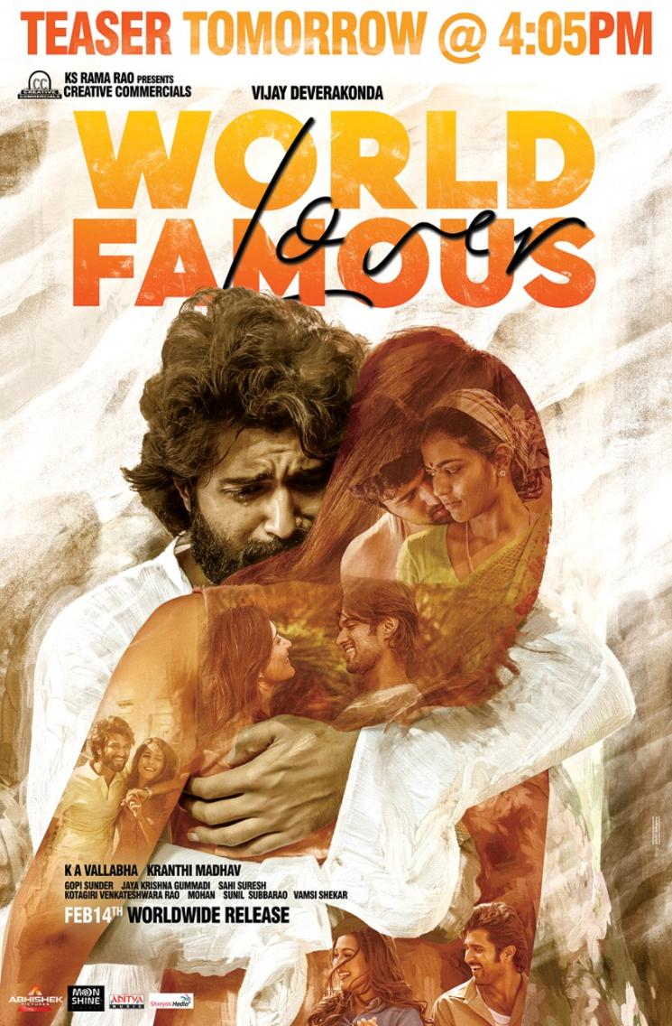 Vijay Devarakonda World Famous Lover Teaser Jan 3
