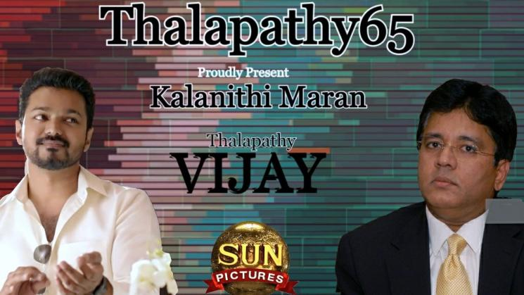 Thalapathy 65 To Be Produced By Sun Pictures Vijay