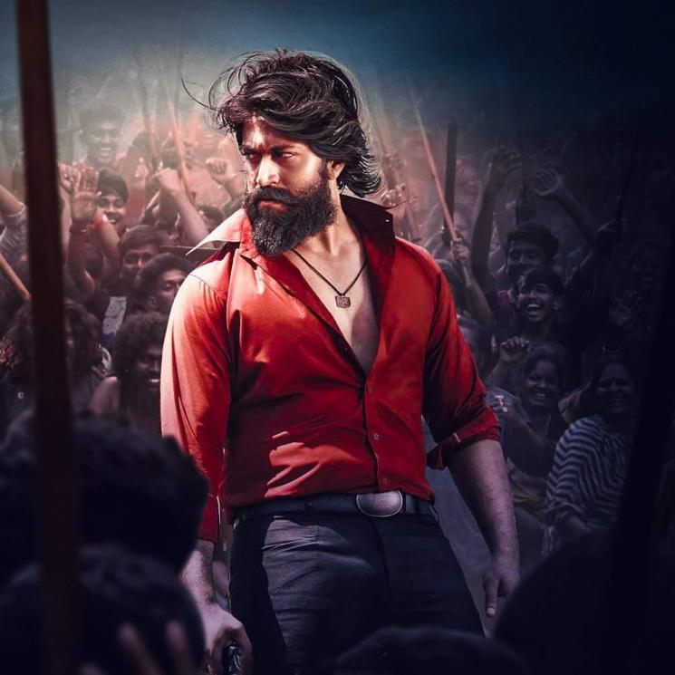 Yash KGF 2 Second Look Poster Released Online