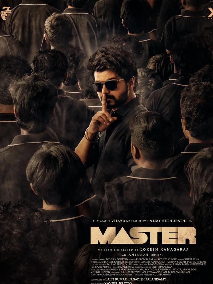 Vijay Master Vijay Sethupathi Birthday Poster