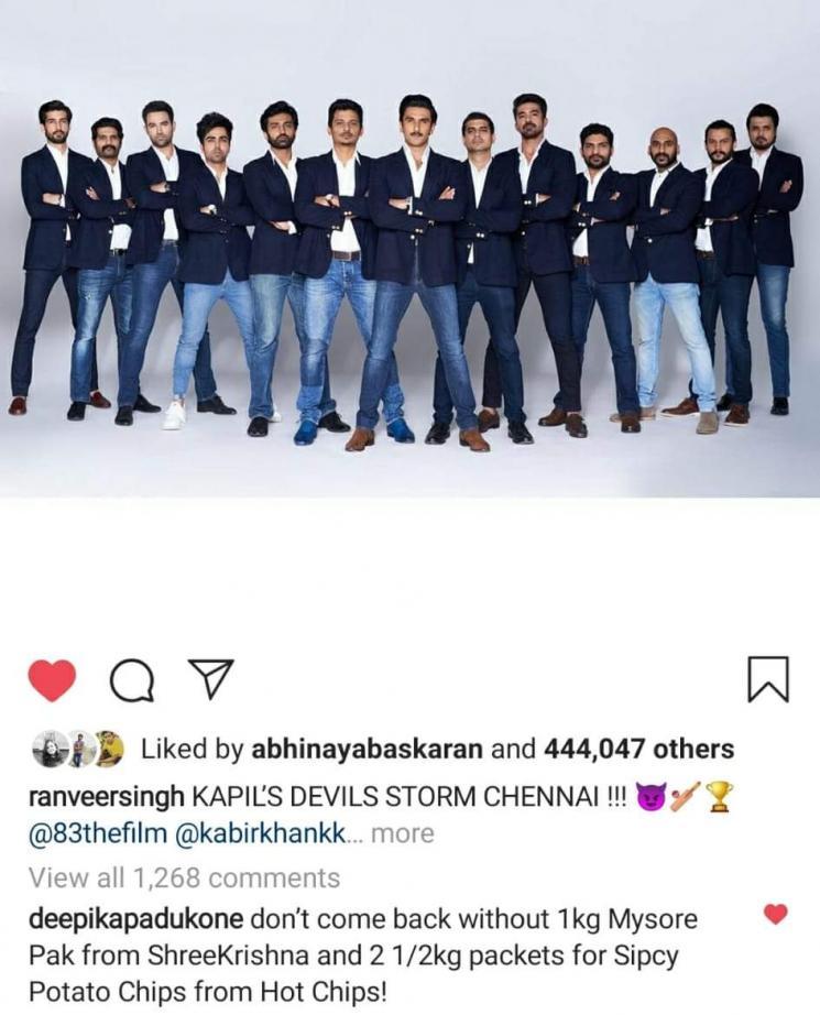Deepika Padukone Viral Comment On Ranveer Post