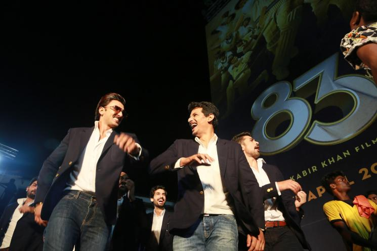 83 The Film First Look Launch Chennai Ranveer Jiiva