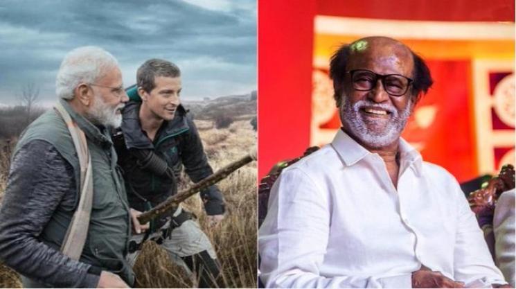 Rajinikanth in Man Vs Wild Show With Bear Grylls