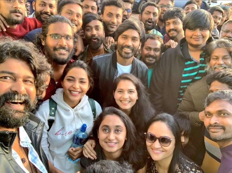 Dhanush D 40 FirstLook To Release On Feb 19th