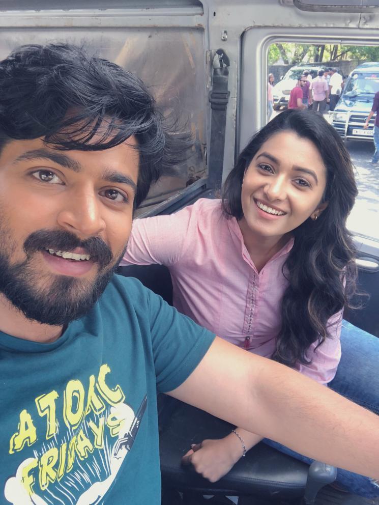 Harish kalyan Priya BhavaniShankar Film Shoot Wrap