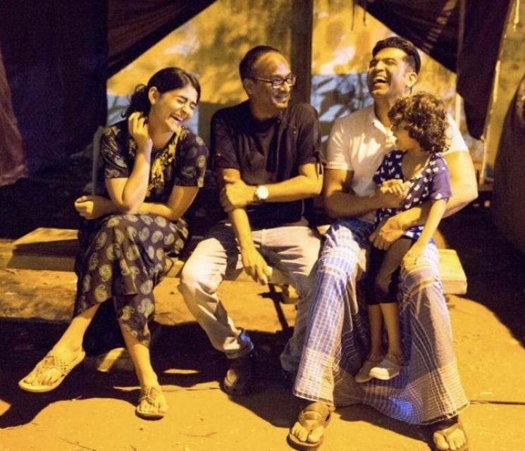 Arun Vijay Sinam Song Recording Through Video Call