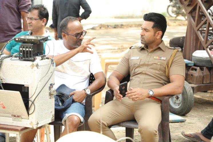 Arun Vijay Cop Thriller Sinam Shoot Completed