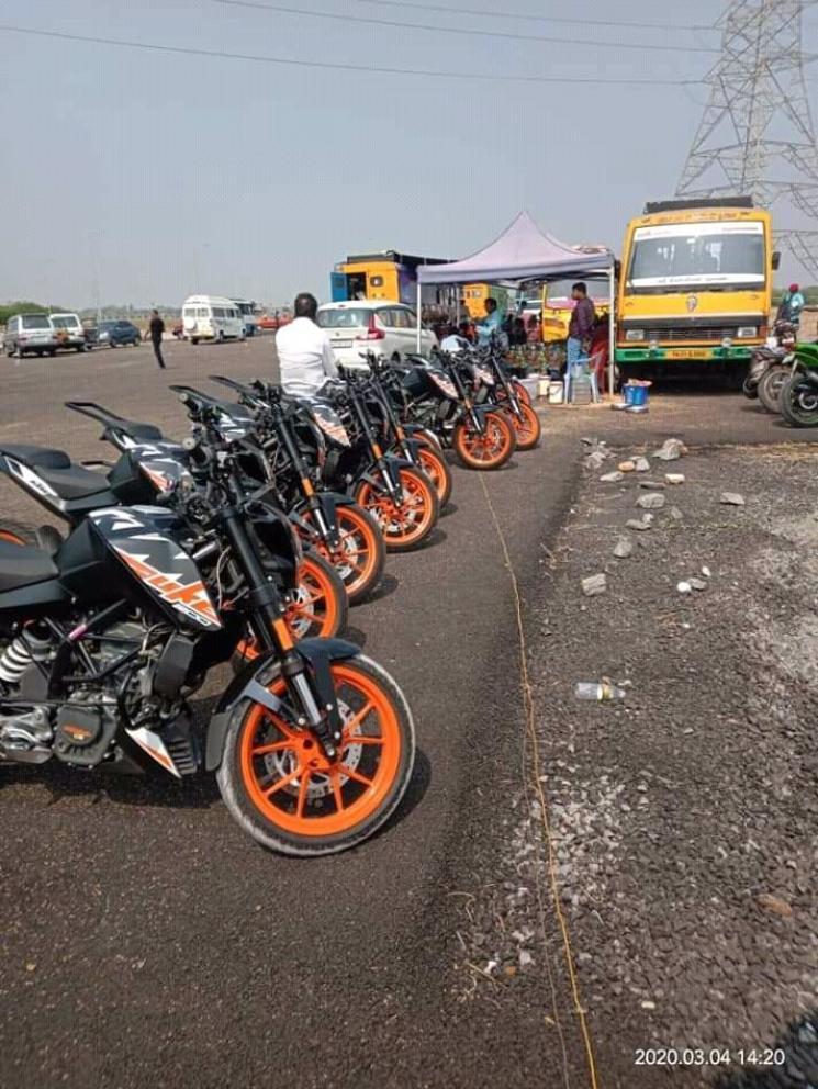 Thala Ajith Valimai Shooting Video Bike Chase