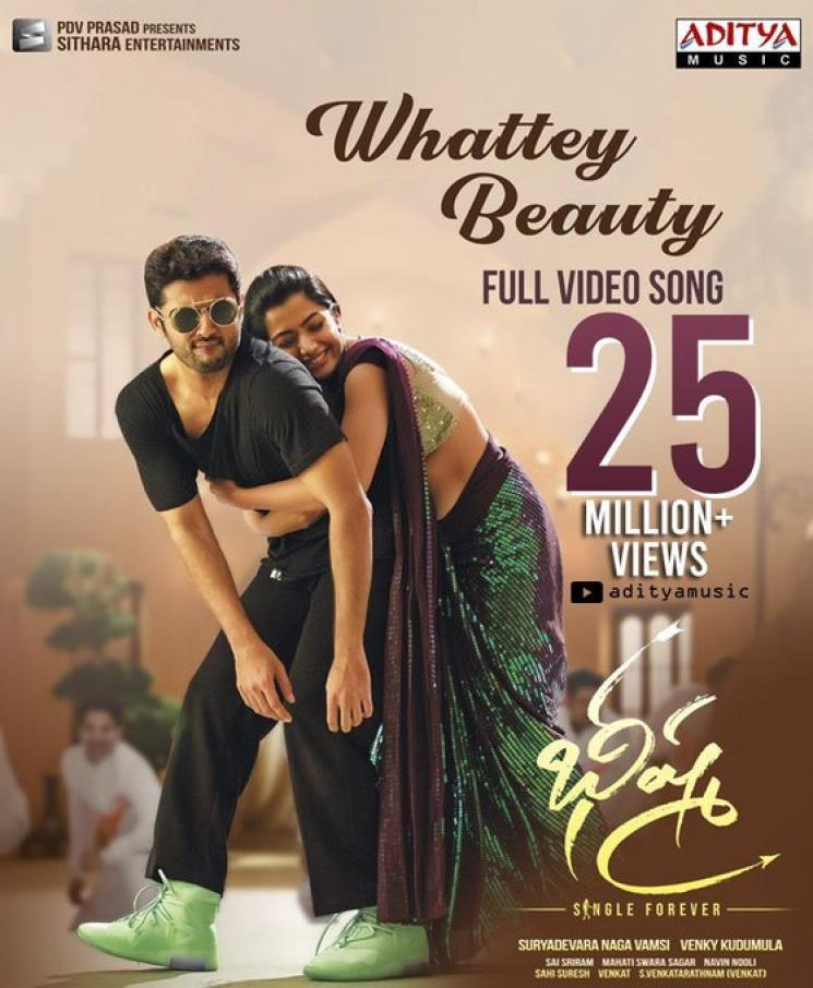 Bheeshma Whattey Beauty 25 Million Views Rashmika