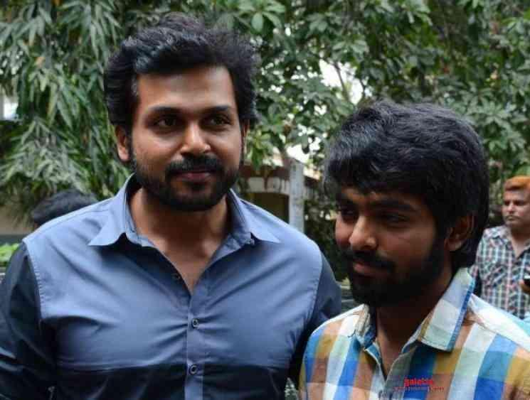 GV Prakash Music Director Karthi PS Mithran Film