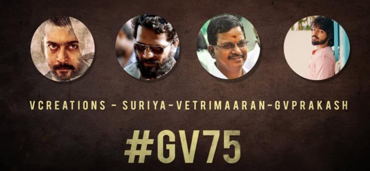 Suriya Vetrimaaran Film Titled VaadiVaasal GVP