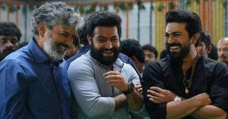 Ramcharan Releases A New Picture From RRR JrNTR