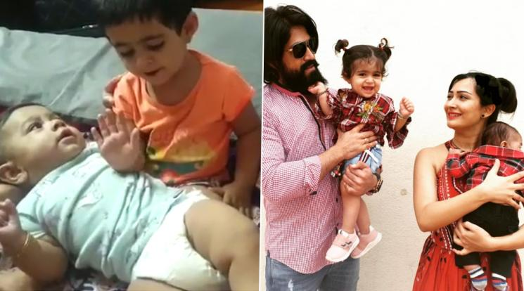 Yash Daughter Cutest Video With Junior Yash