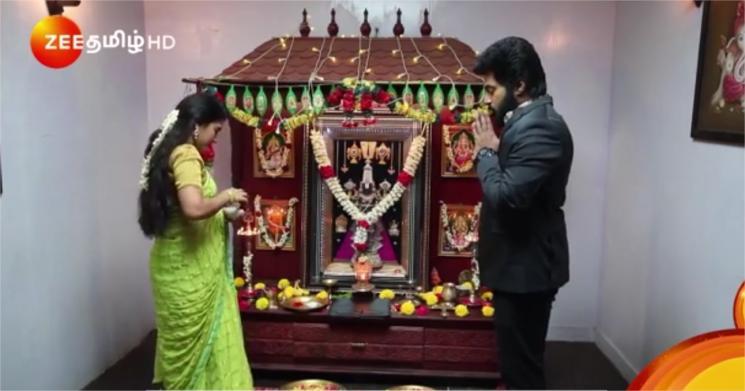 Sembaruthi Parvathi GIves File To Aadhi