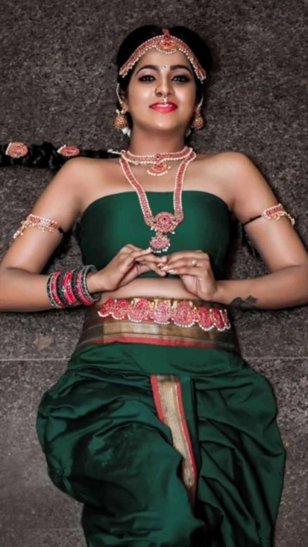 Pandian Stores Chithu Vj Telugu TikTok Video