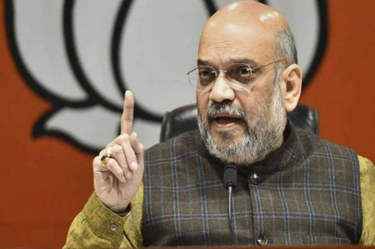 Amit Shah warns jail sentence for those who speak against India