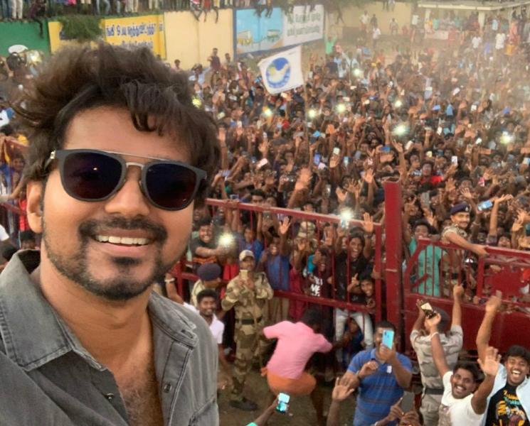 Vijay Selfie With Fans Released Master Shooting