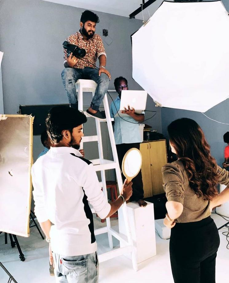 Kavin Amirtha Aiyer Lift Photoshoot Making stills