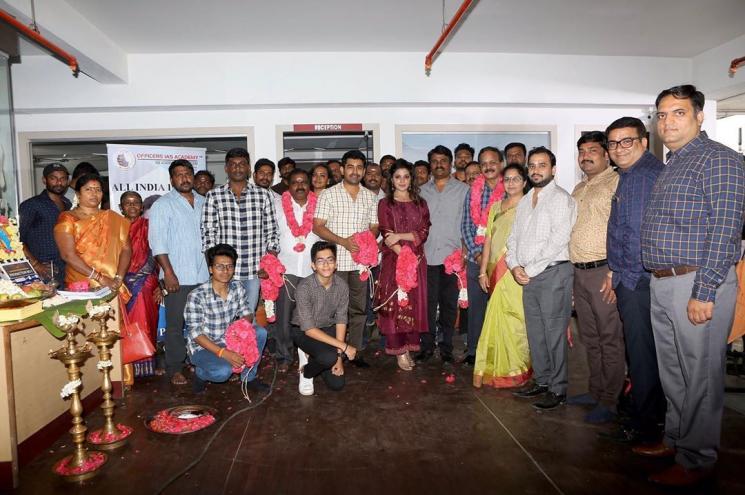 Vijay Antony Aathmika Film Starts With A Pooja