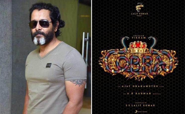 Chiyaan Vikram Cobra Mirnalini Ravi On Board