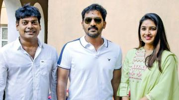 Vaibhav Vani Bhojan Film Titled Lockup NitinSathya