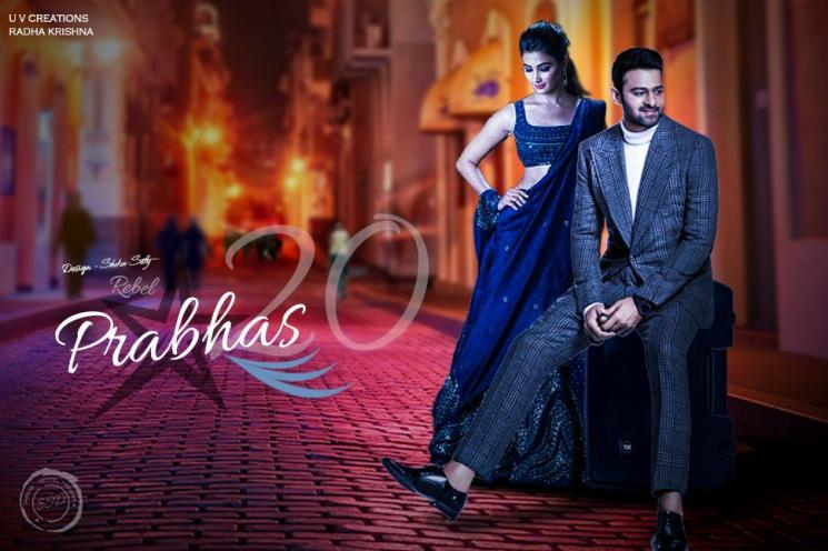 Prabhas 20 Rumoured To be Titled John Pooja Hegde